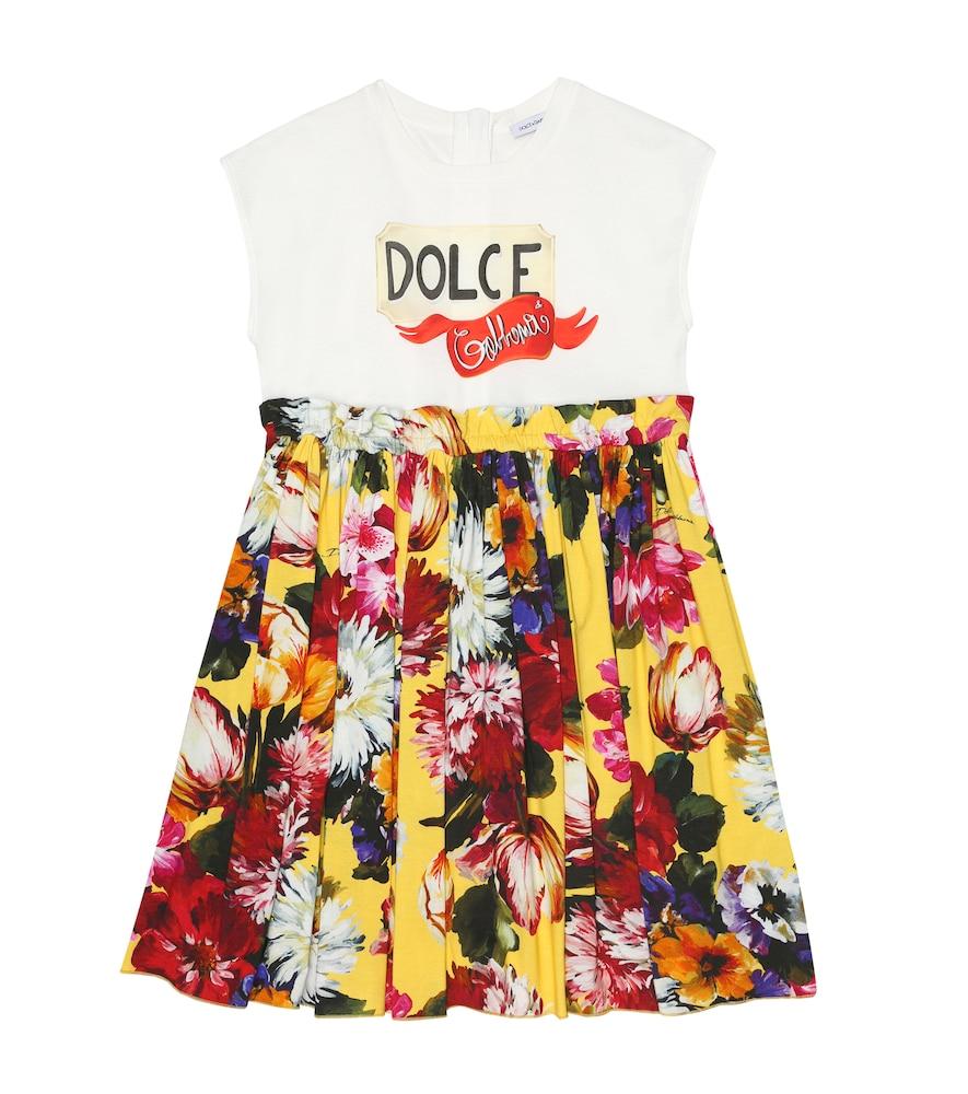 Dolce & Gabbana FLORAL JERSEY DRESS