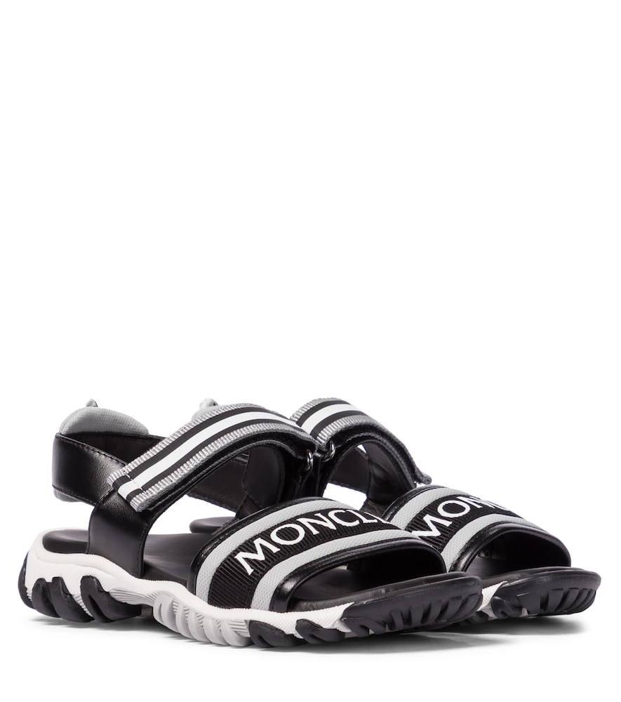 Moncler Leathers SUNSET LEATHER SANDALS