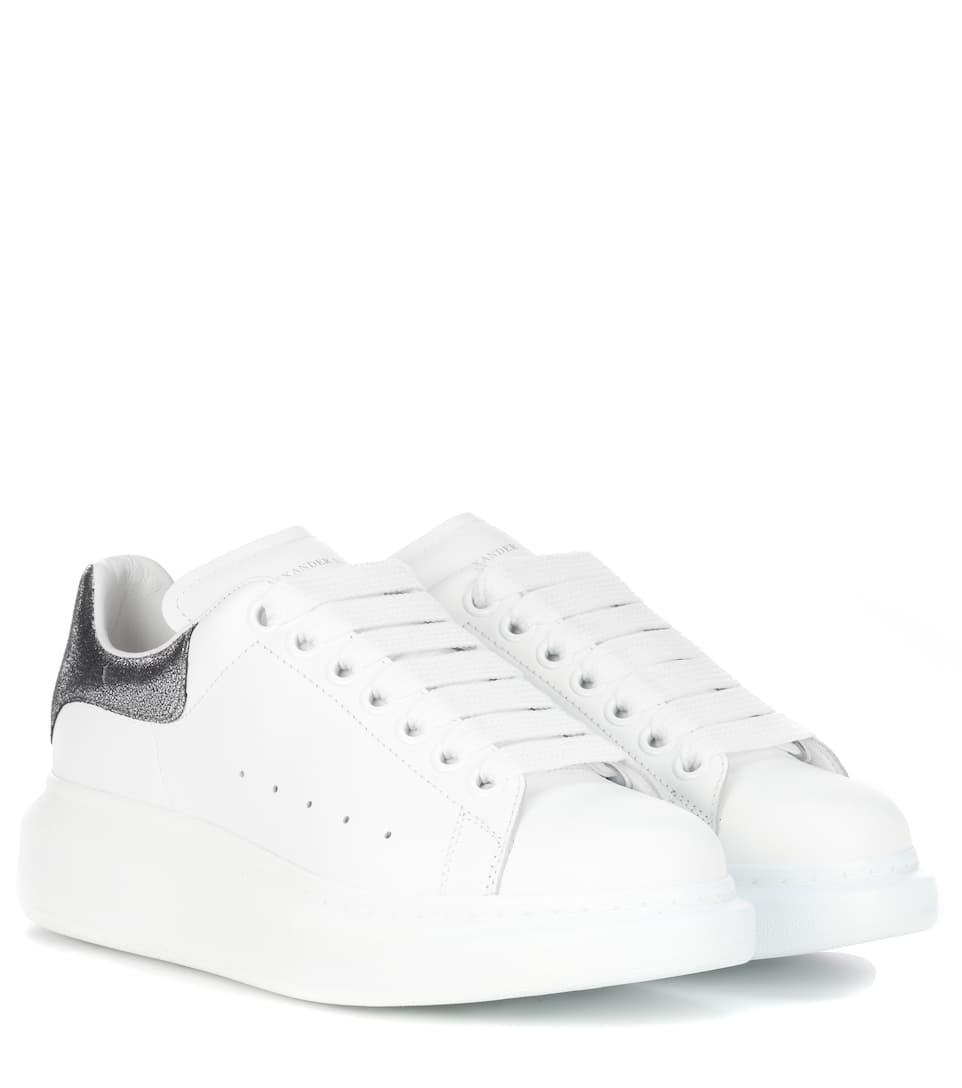 Sneakers In Pelle - Alexander McQueen   mytheresa.com