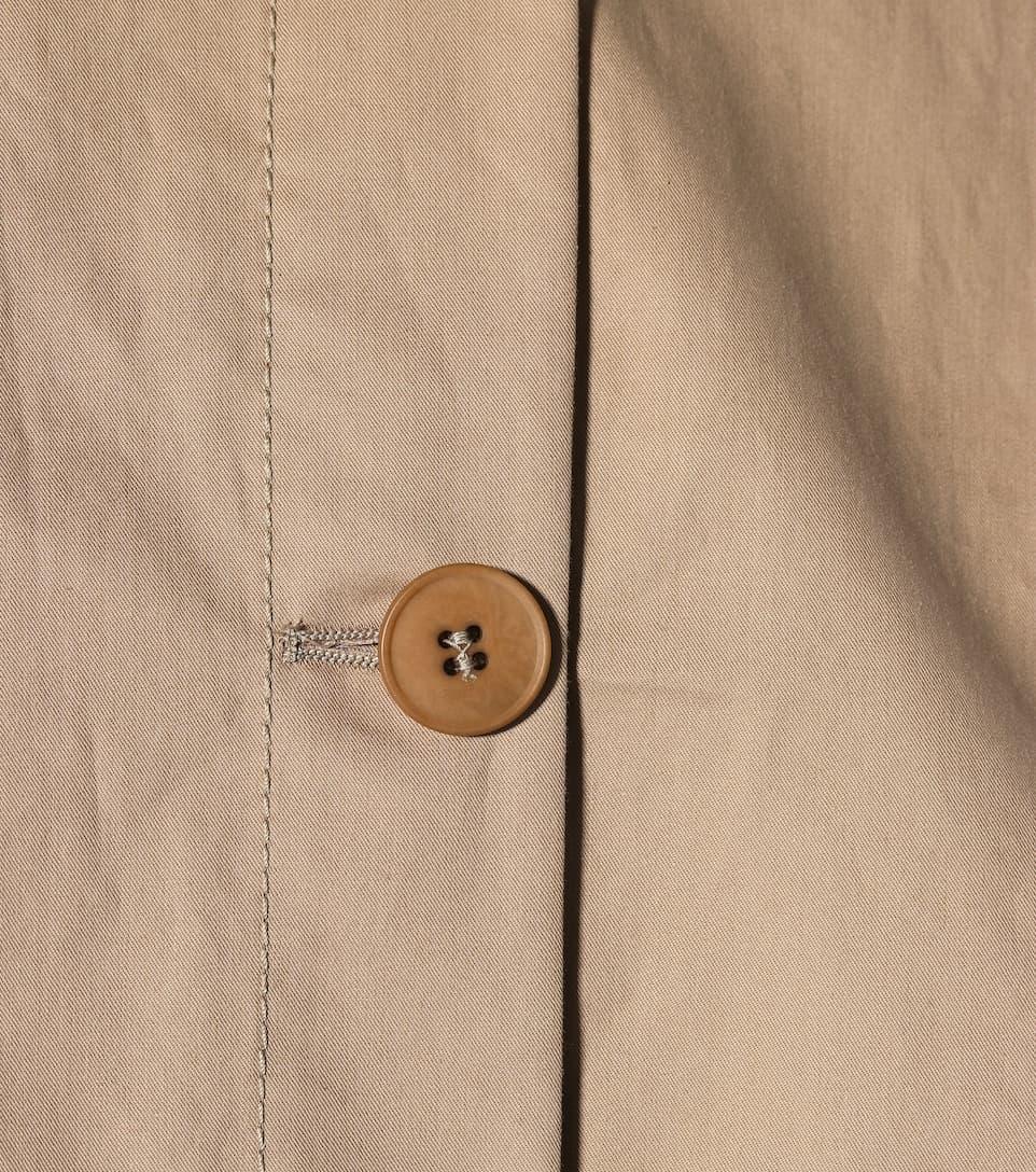 Stella Mccartney Trenchcoat Of Cotton