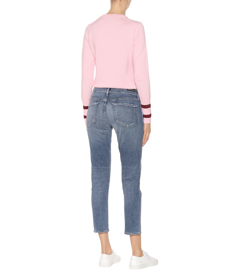 Citizens of Humanity Slim-Fit Cropped Jeans Elsa