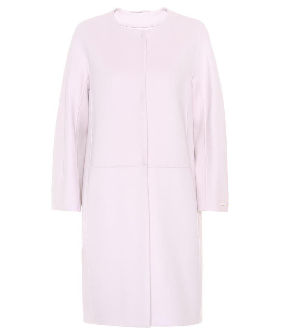 S Max Mara Coat Unito Wool And Angora