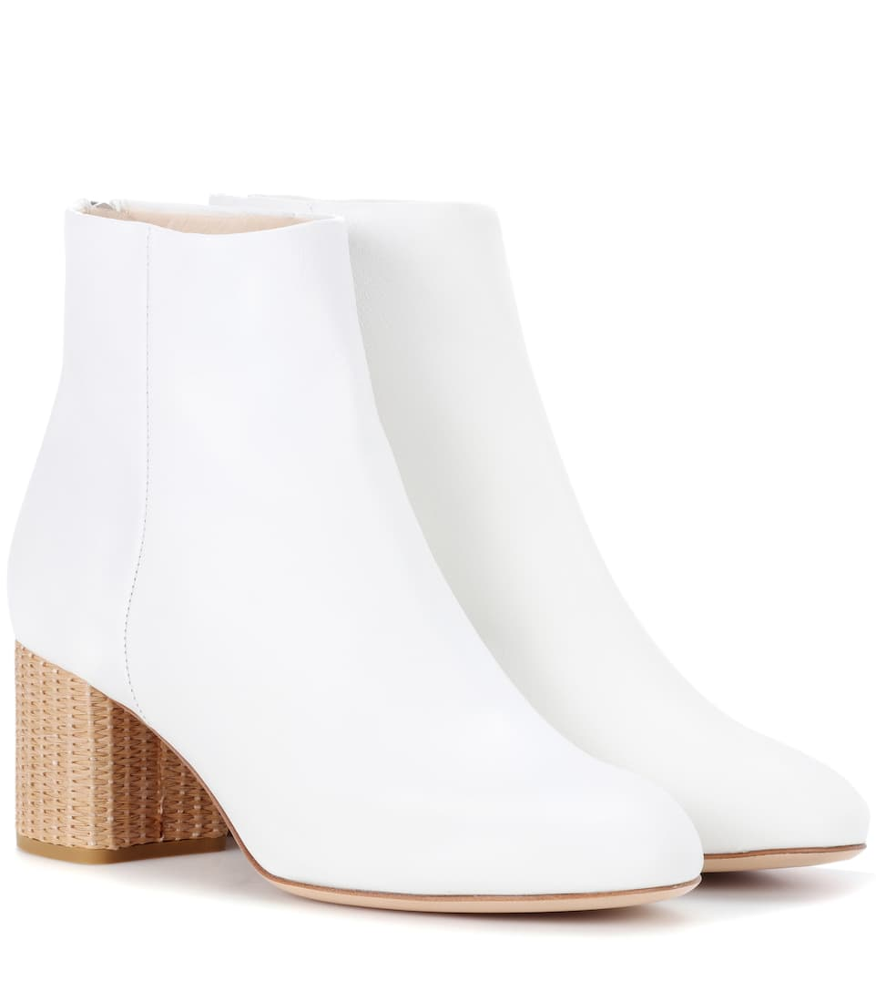 RAG&BONE Drea leather ankle boots Red Pre Order Eastbay Footlocker Free Shipping Latest Shopping Online 0XekA