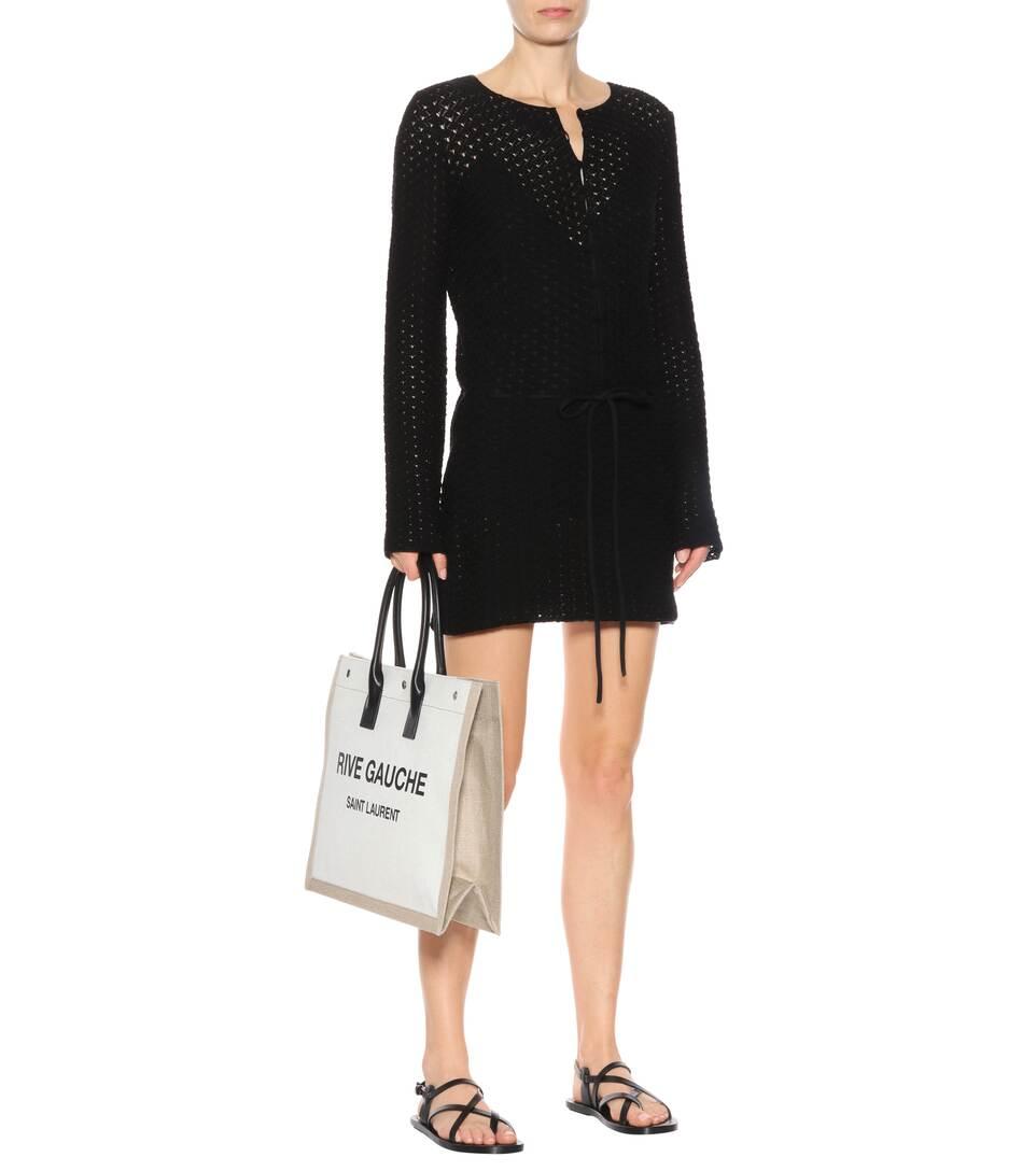 Saint Laurent Strickkleid aus Baumwolle