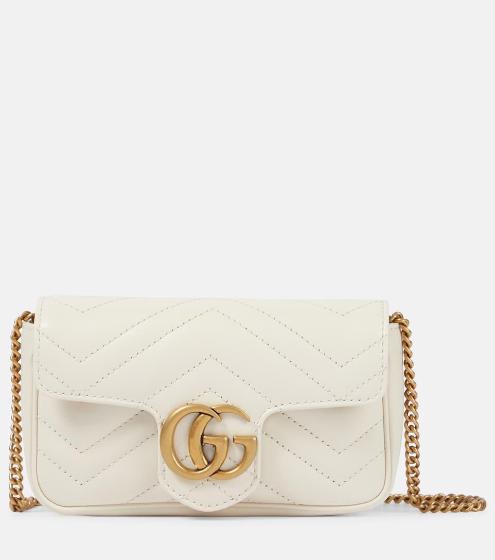 Borsa A Tracolla Gg Marmont Mini In Pelle - Gucci  60d5cbca234
