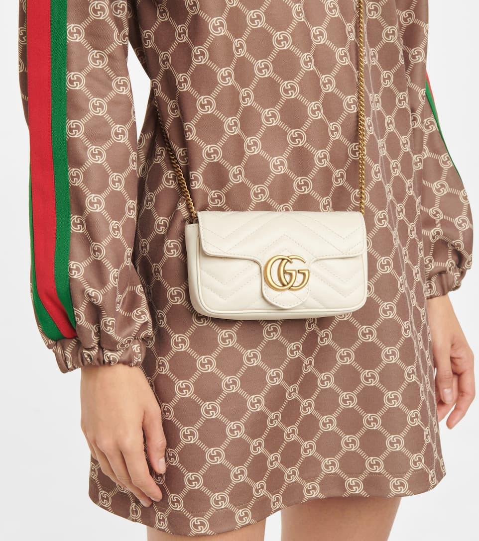 f58cfe3ef068 Gucci - GG Marmont Super Mini shoulder bag