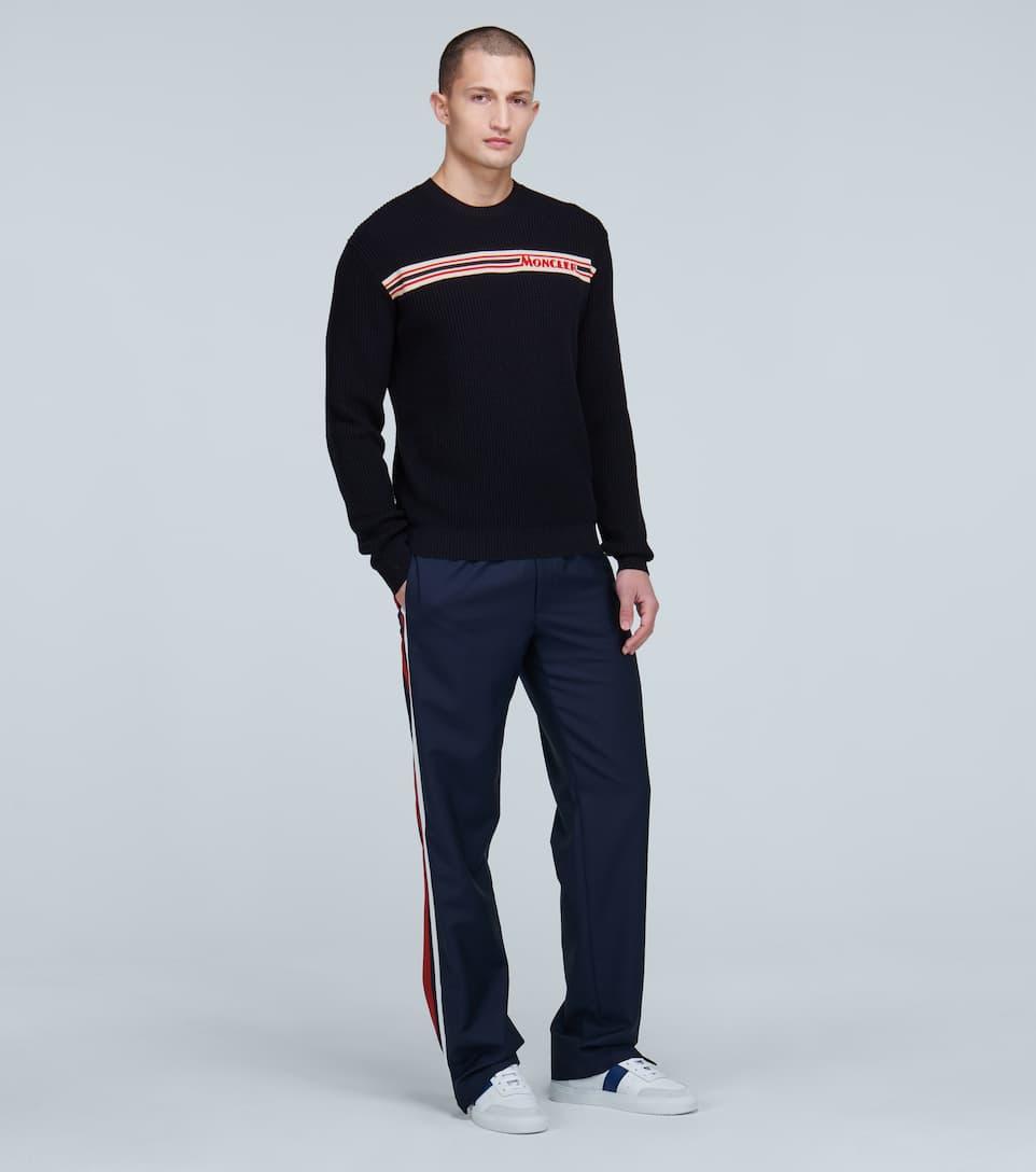크루넥 와플 니트 스웨터 | Moncler NdsvhdTK