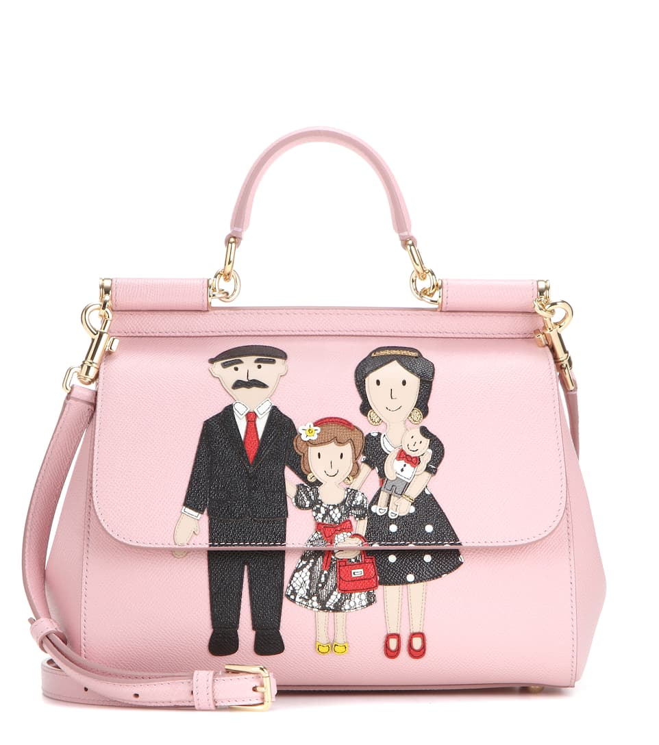 Dolce & Gabbana Ledertasche Miss Sicily Medium