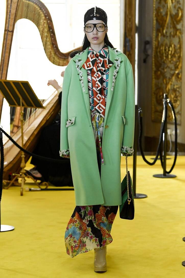 Gucci Bedruckte Seidenbluse Offizielle Seite Billig Verkaufen Die Billigsten Billig Manchester vx5WmC