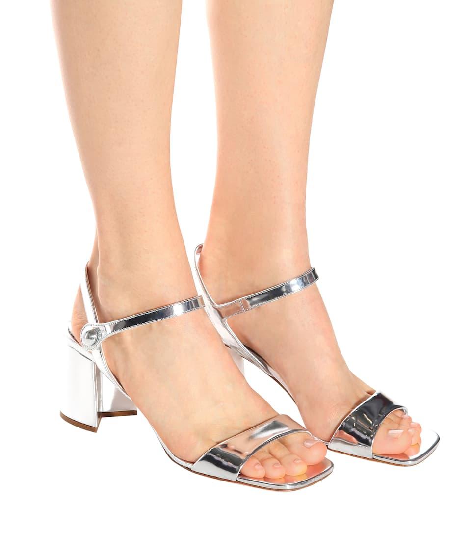 Miu Miu Sandalen aus Lackleder