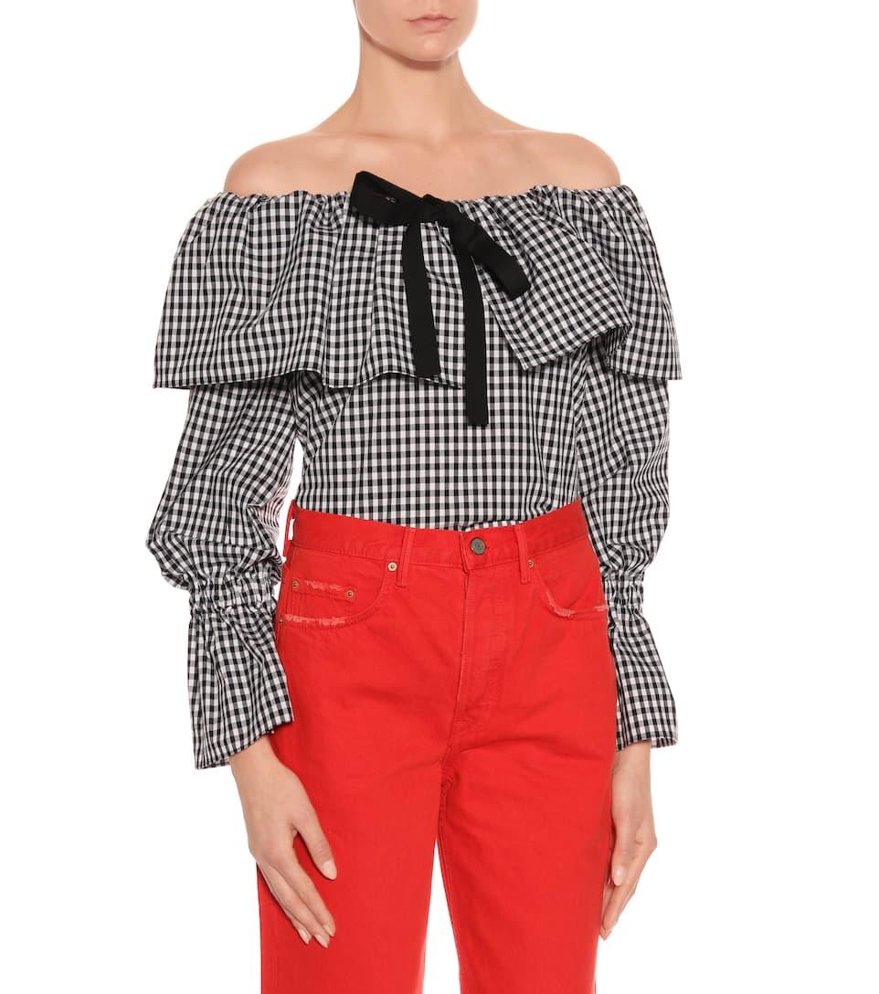 Grlfrnd Cropped-Hose Linda aus Baumwolle