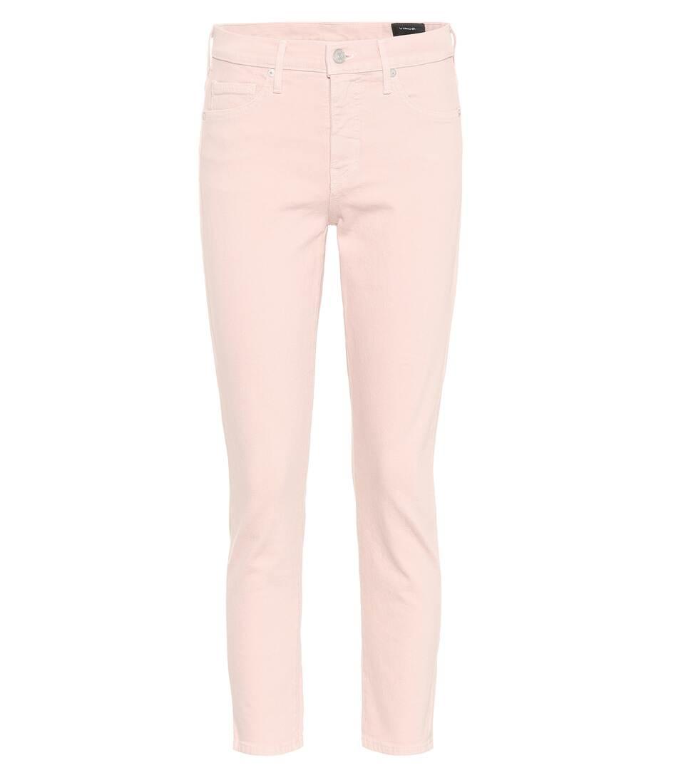 Vince Jeans aus Stretch-Baumwolle