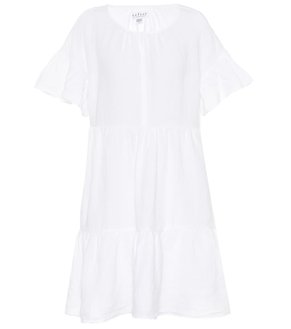 NOOR LINEN DRESS