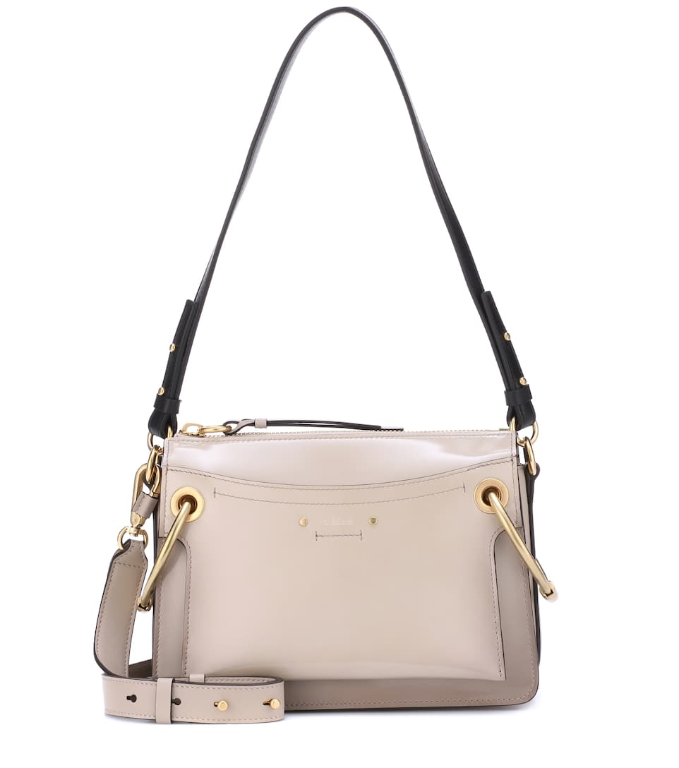 Small Roy Patent Leather Shoulder Bag by Chloé
