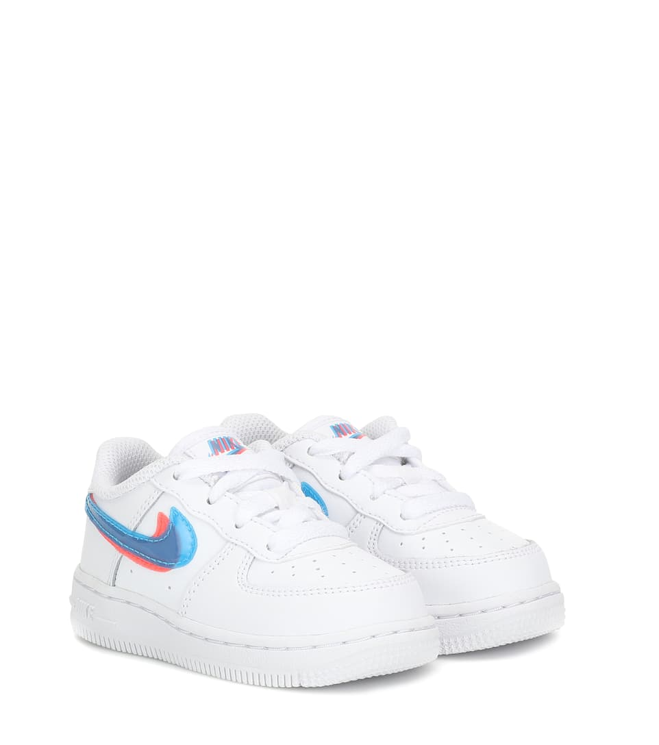Force 1 LV8 leather sneakers