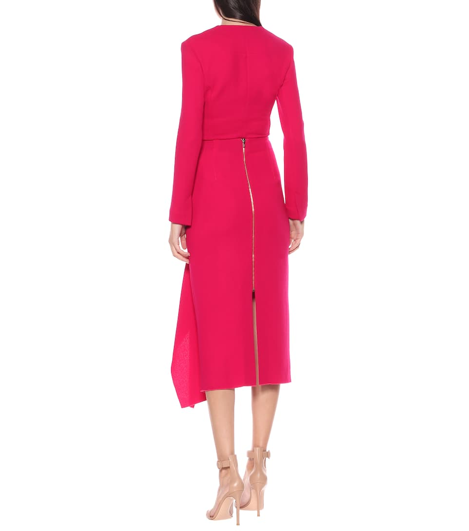 Roland Mouret - Exclusive to Mytheresa – Wool-crêpe skirt