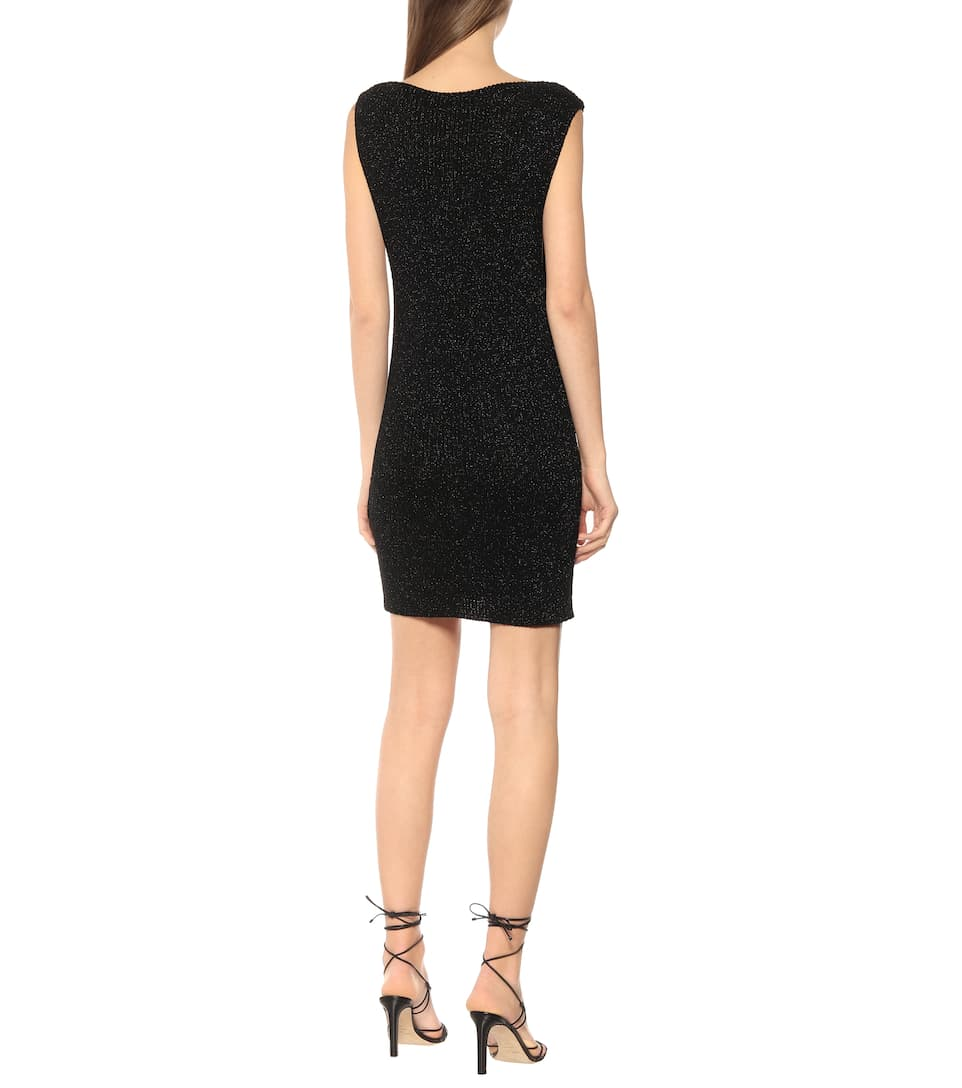 Saint Laurent - Knit minidress