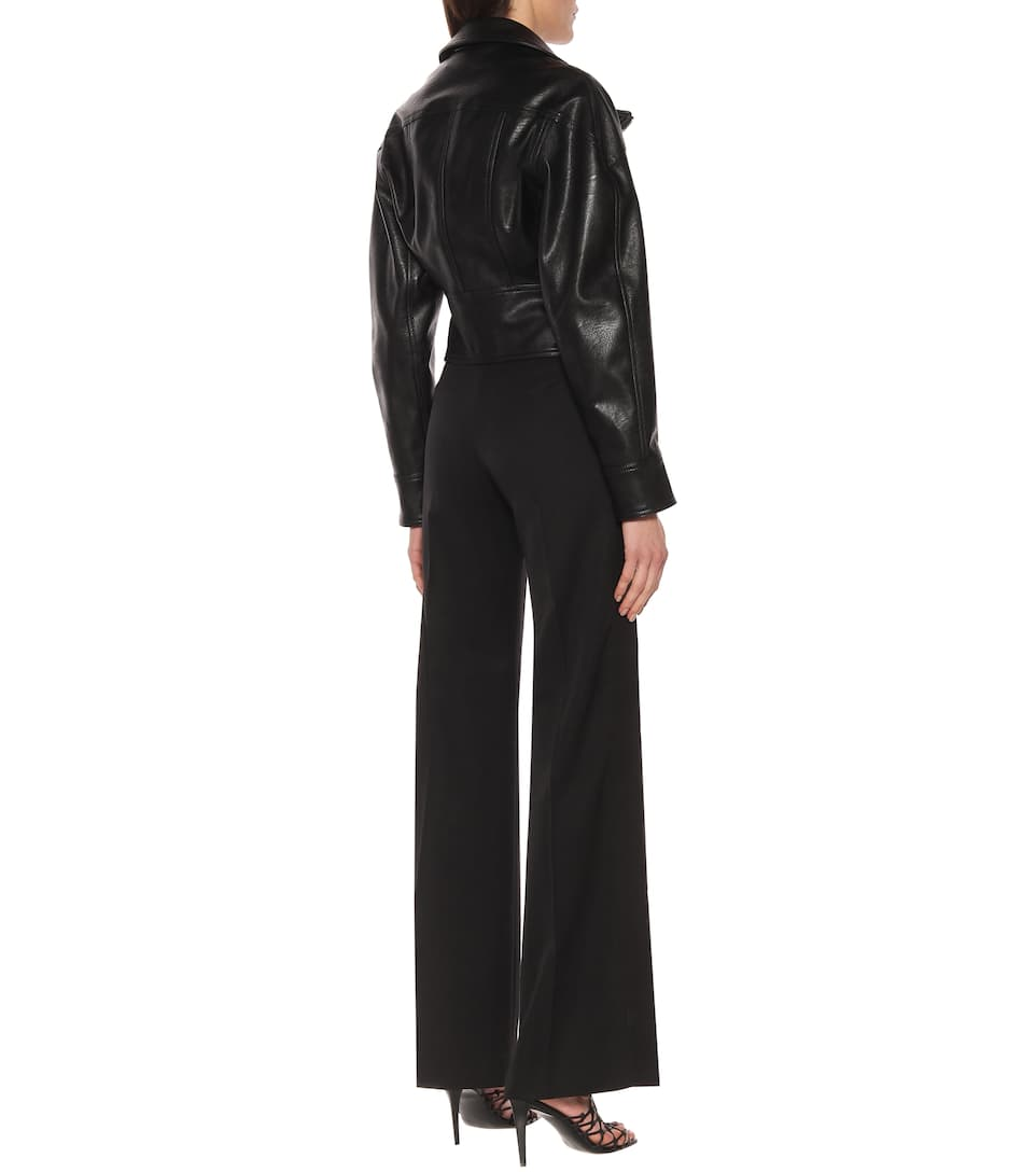 Stella McCartney - Faux-leather jacket