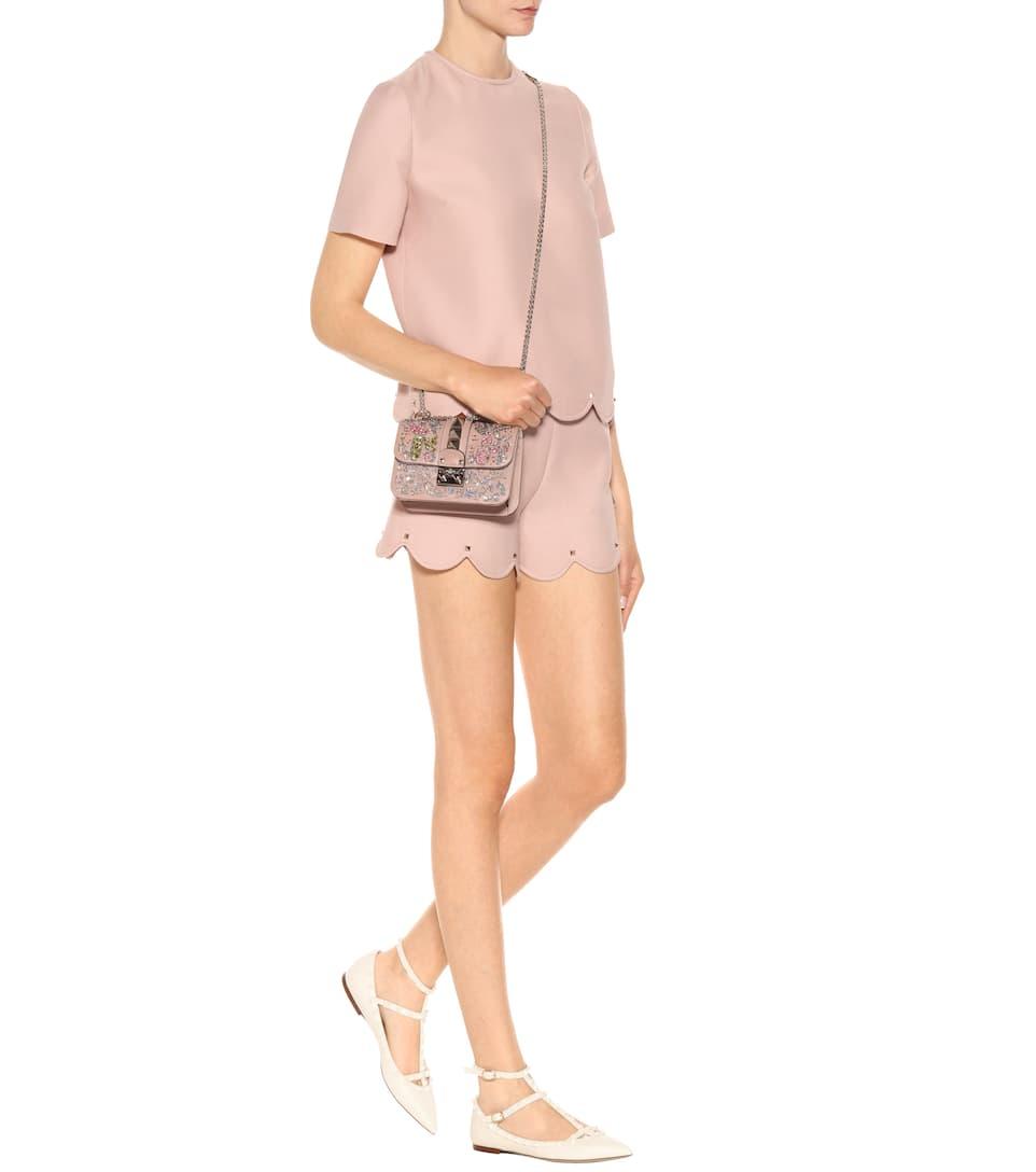 Billig Verkauf Breite Palette Von Valentino Valentino Garavani Ballerinas Rockstud aus Leder Preiswert Billig Rabatt Authentisch Finden Große Zum Verkauf wFOFI