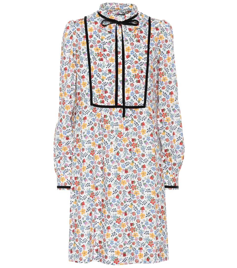 A.P.C. - Robe en coton imprimé Rita