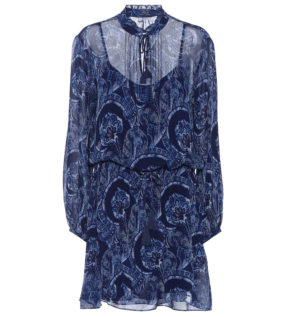 Polo Ralph Lauren Bedrucktes Minikleid