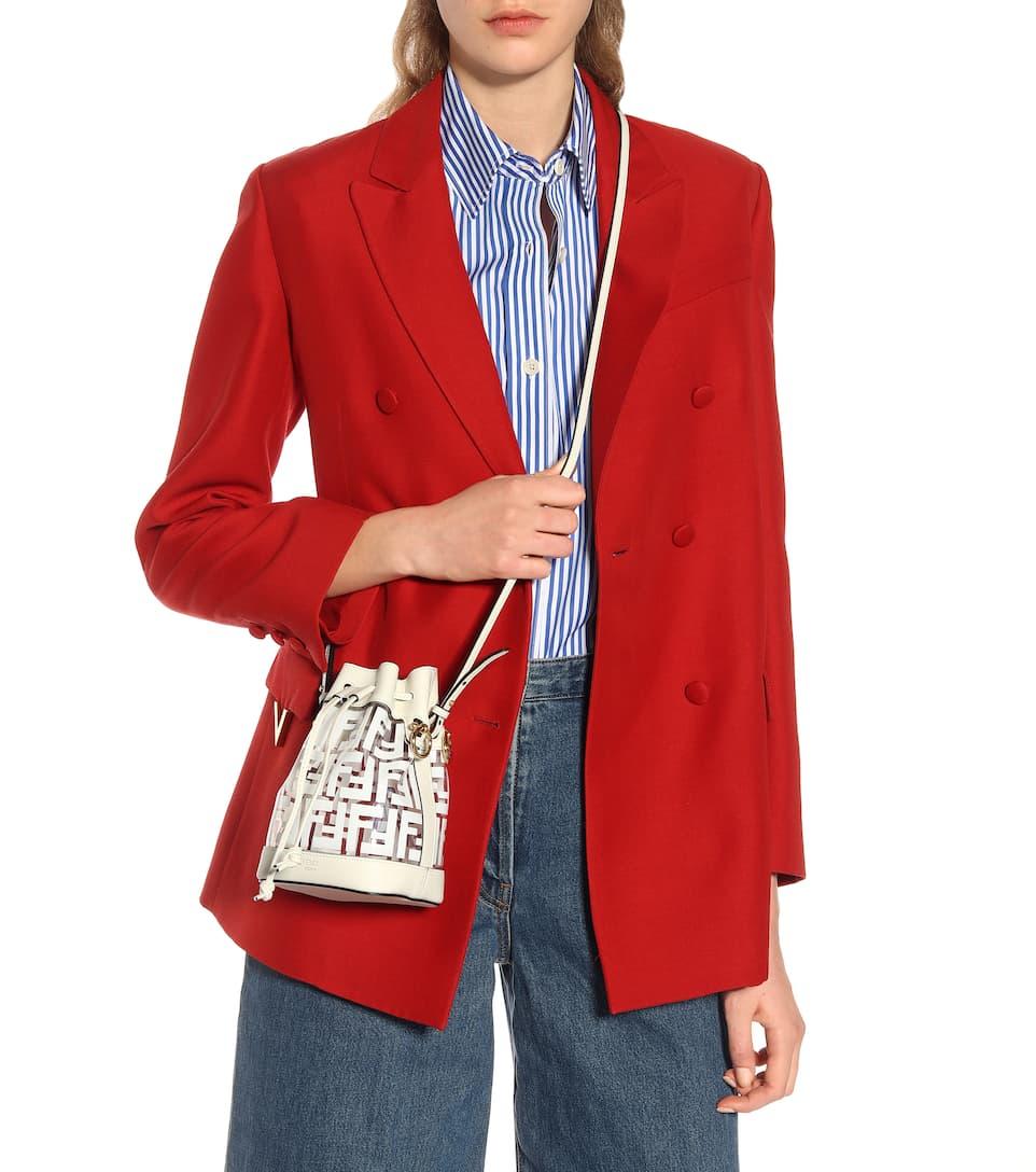 Mon Tresor Mini Leather Bucket Bag Fendi Mytheresa