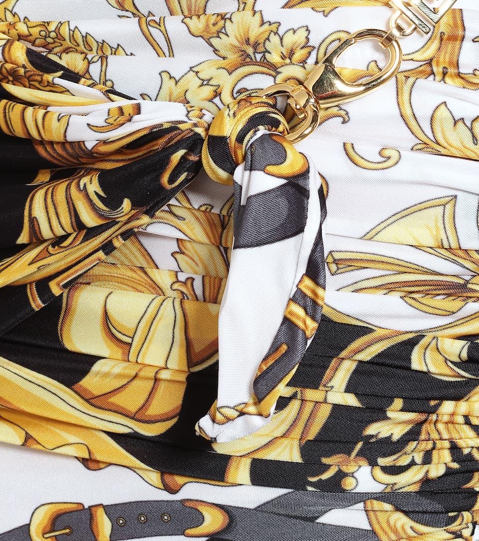 Versace - Printed miniskirt