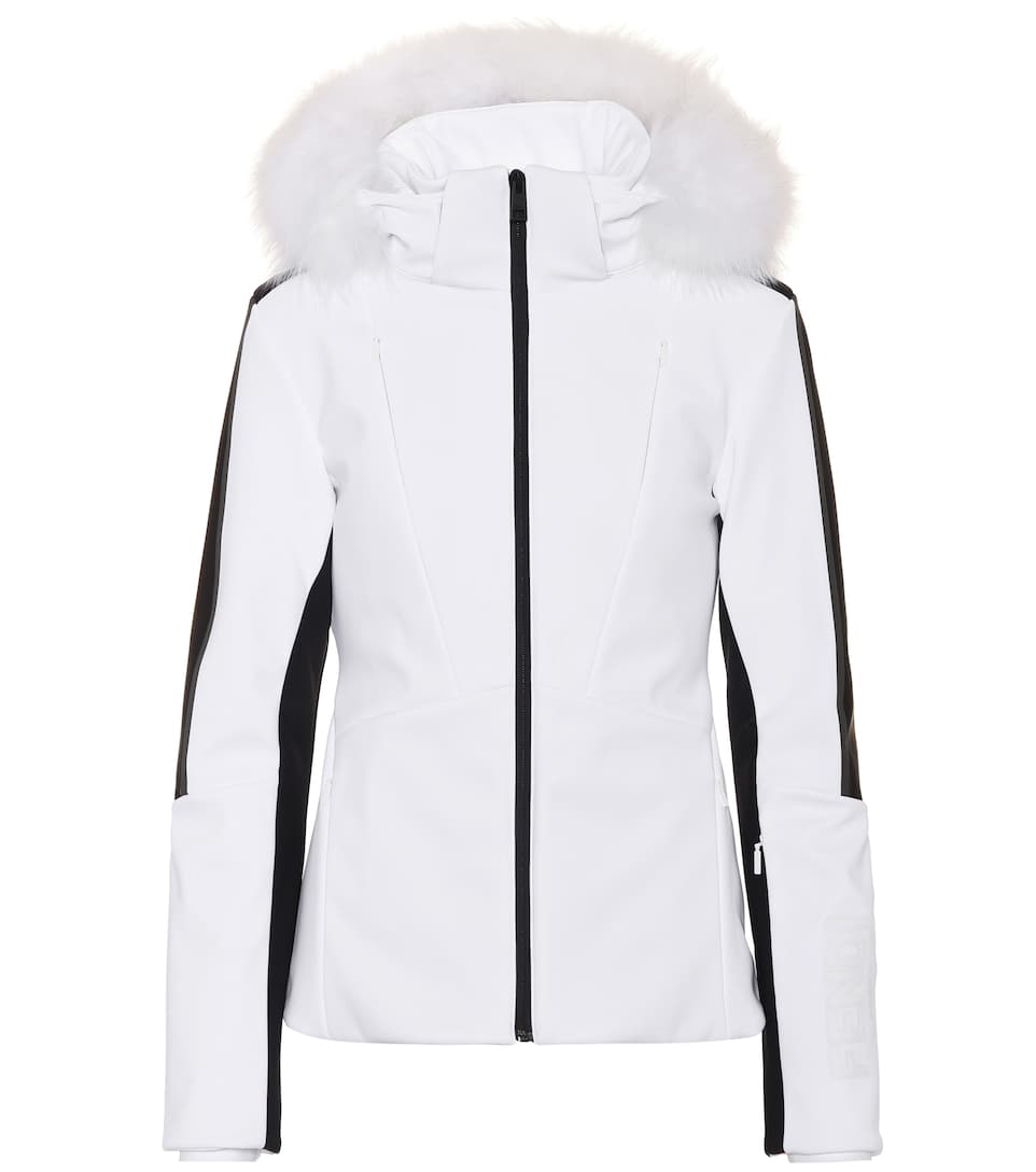 Fur-Trimmed Ski Jacket - Fendi  3925e4343