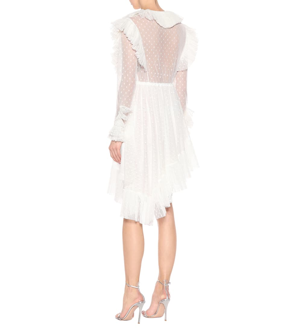Philosophy Di Lorenzo Serafini Asymmetric Mini Dress Made Of Tulle