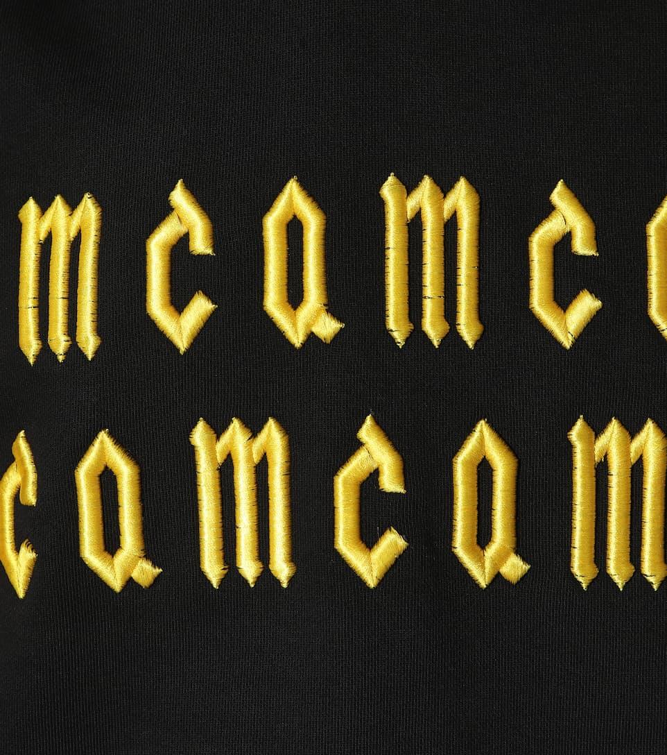 McQ Alexander McQueen Bestickter Hoodie aus Baumwolle