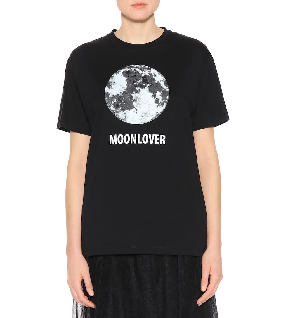 Valentino Bedrucktes T-Shirt aus Baumwolle