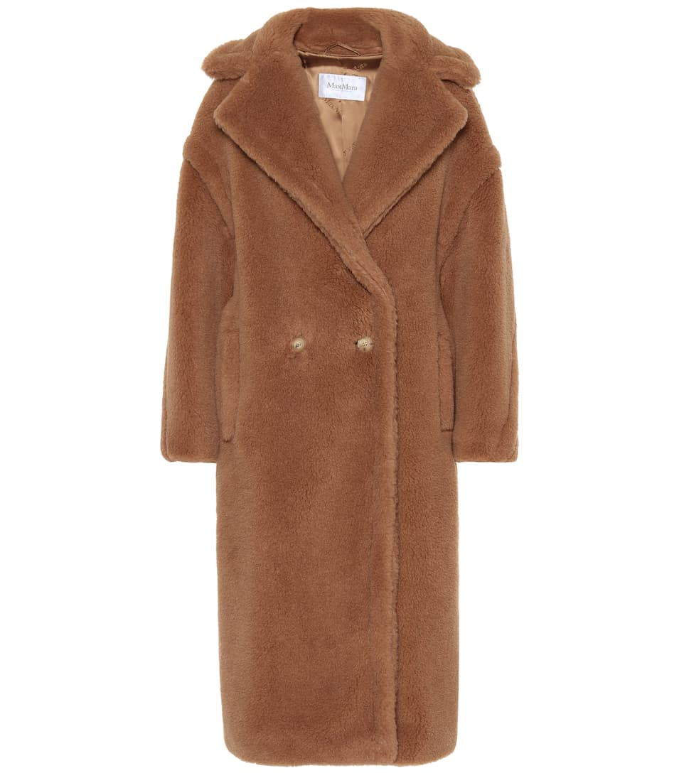 Wool And Silk Blend Coat by Max Mara