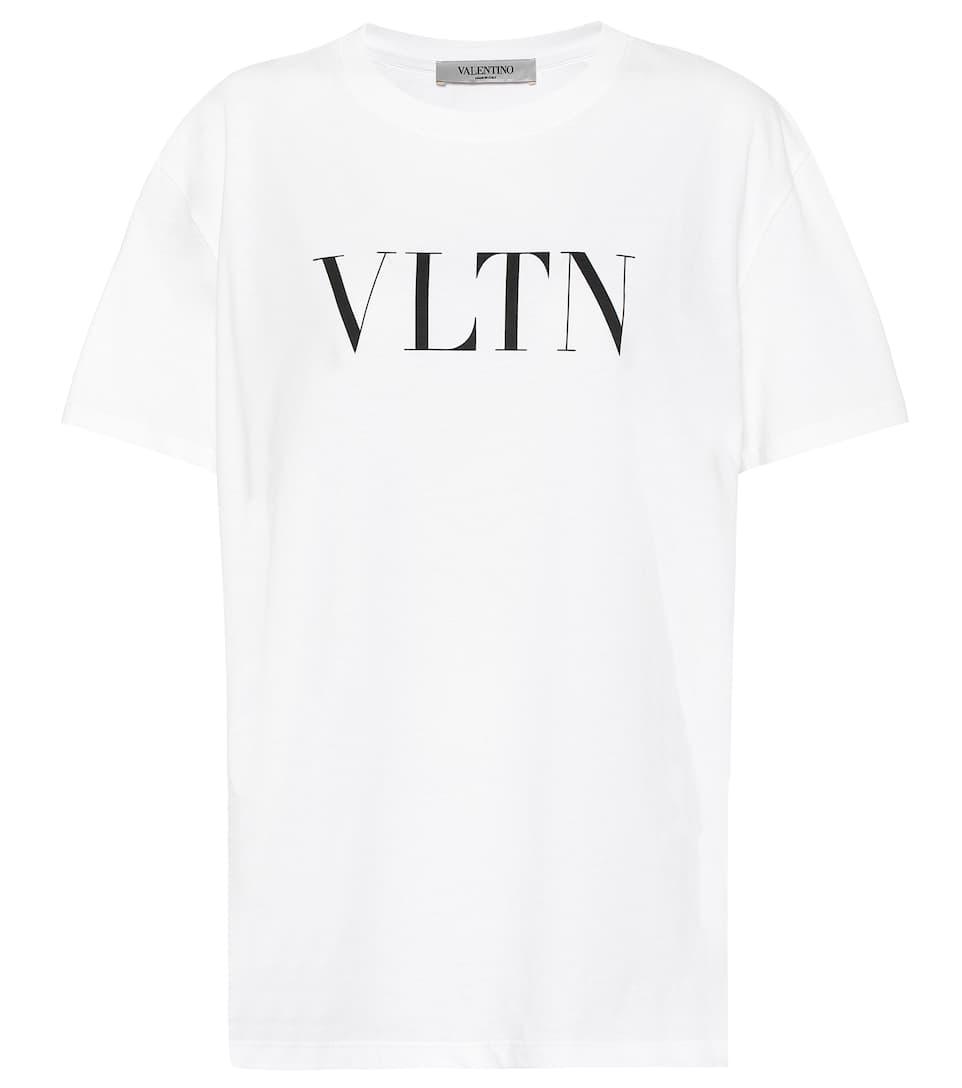 6bf3e3c56c30e Vltn Cotton T-Shirt | Valentino - Mytheresa
