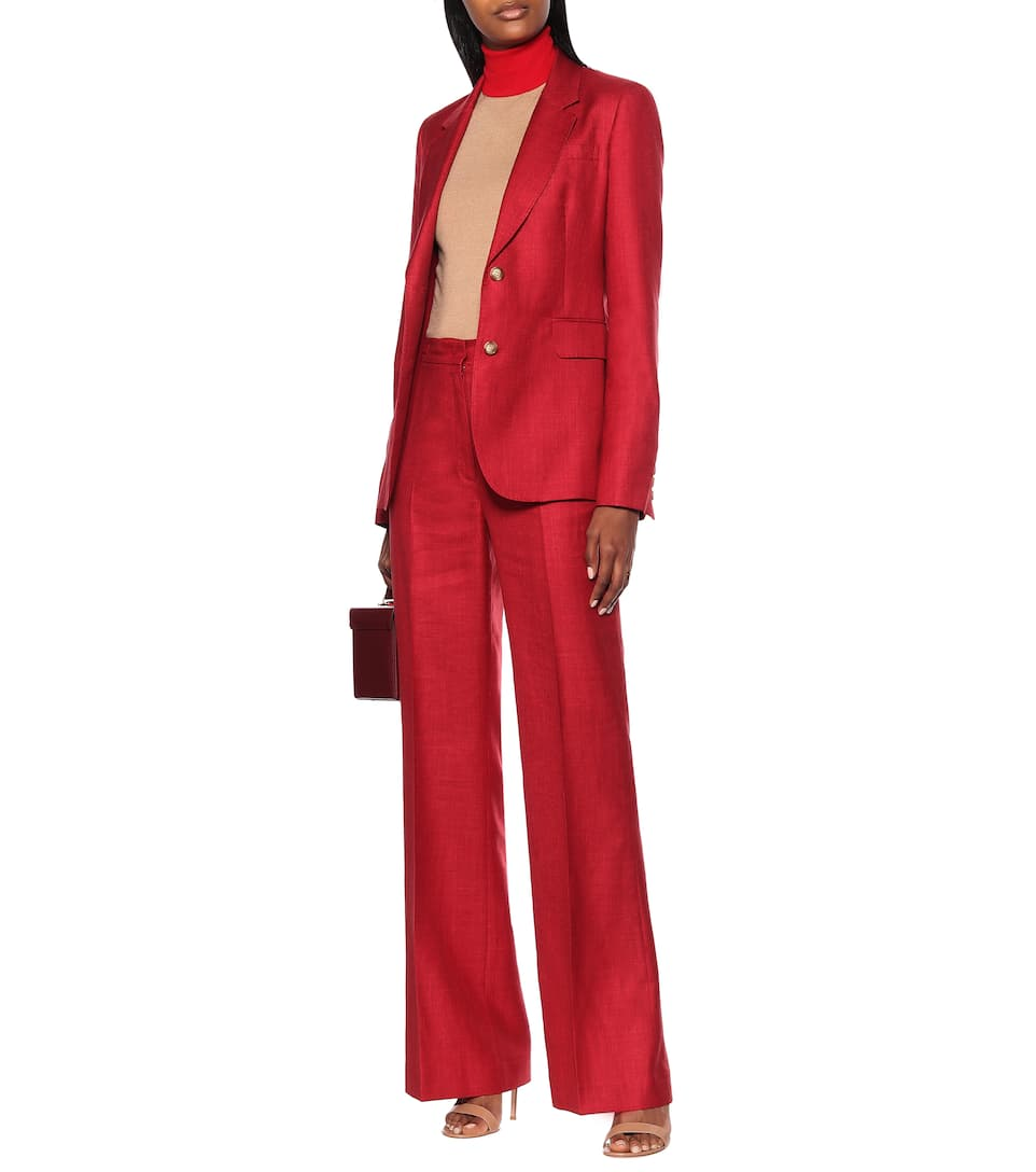 Gabriela Hearst - Exclusive to Mytheresa – Vesta high-rise wool-blend pants