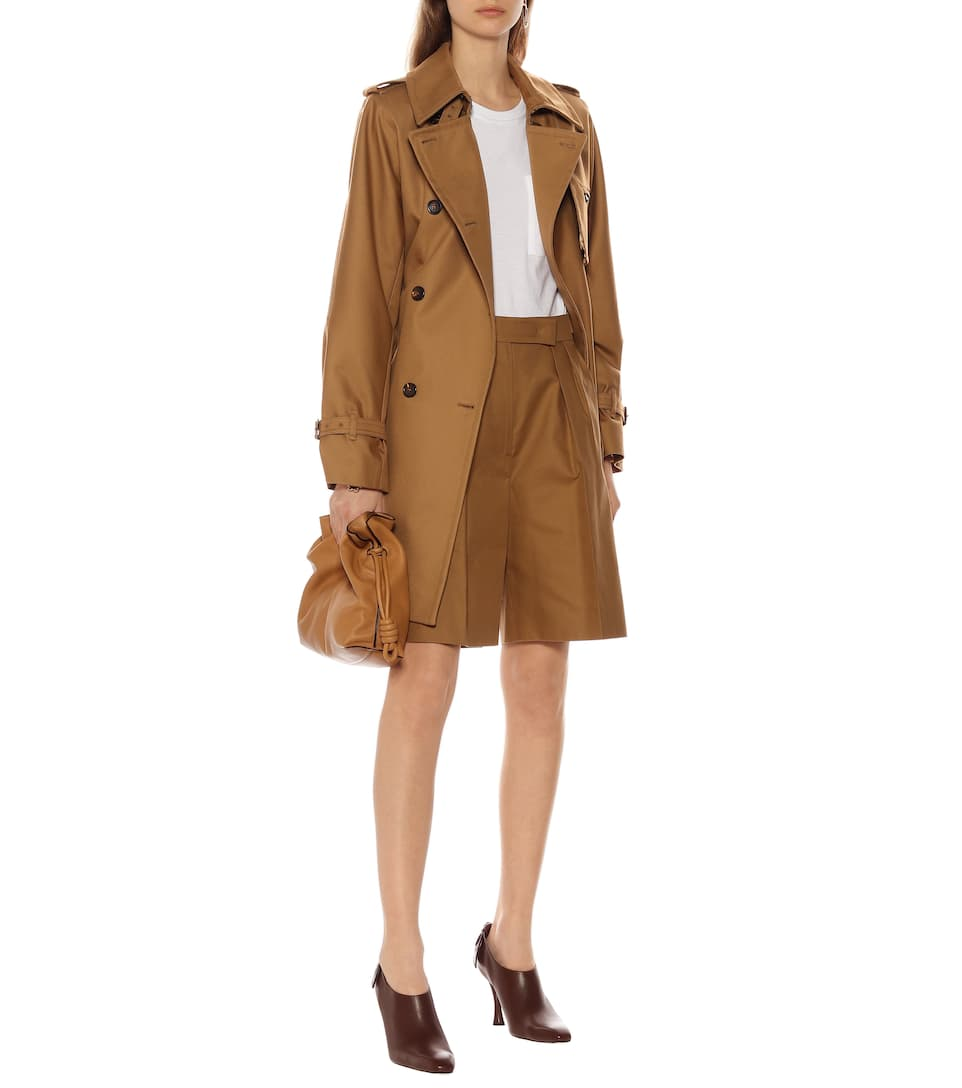 Attuale Cotton Trench Coat - Max Mara