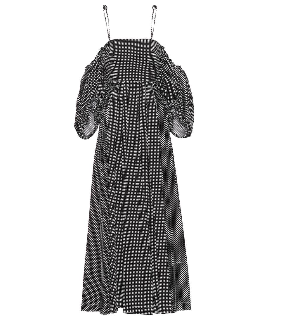 Günstig Kaufen Loewe Schulterfreies Kleid aus Baumwolle Billig Verkauf In Deutschland Günstig Kaufen Offiziellen Freies Verschiffen 100% Authentisch Billig Verkaufen Hochwertige 38z2b8