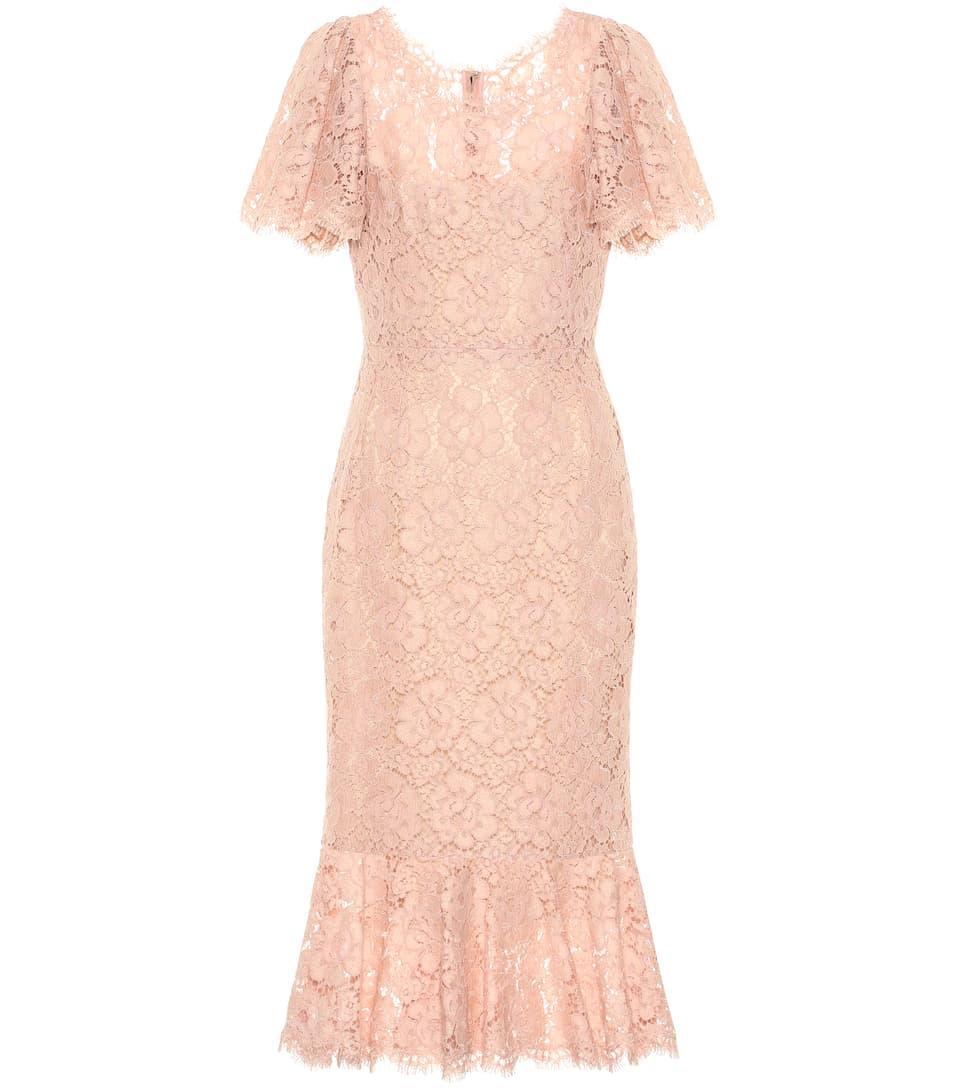 En Dolceamp; Gabbana Robe Dentelle hstQrd