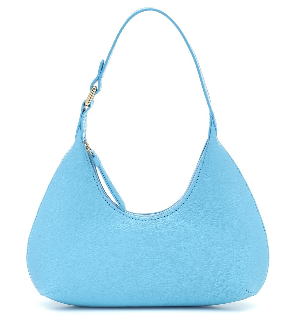 Baby Amber leather shoulder bag by BY FAR, available on mytheresa.com for EUR395 Kendall Jenner Bags Exact Product