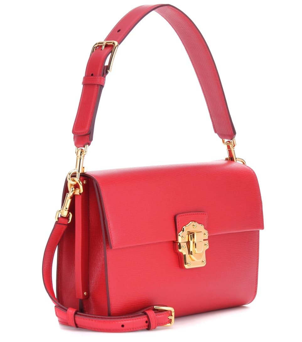Dolce & Gabbana Crossbody-Tasche Lucia aus Leder