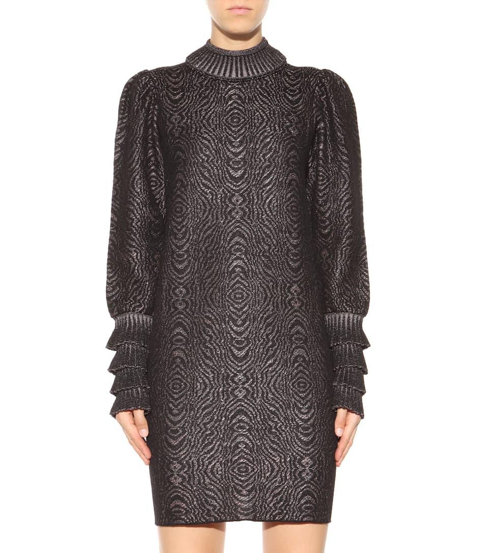 Lanvin - Knitted jacquard wool-blend dress mytheresa.com
