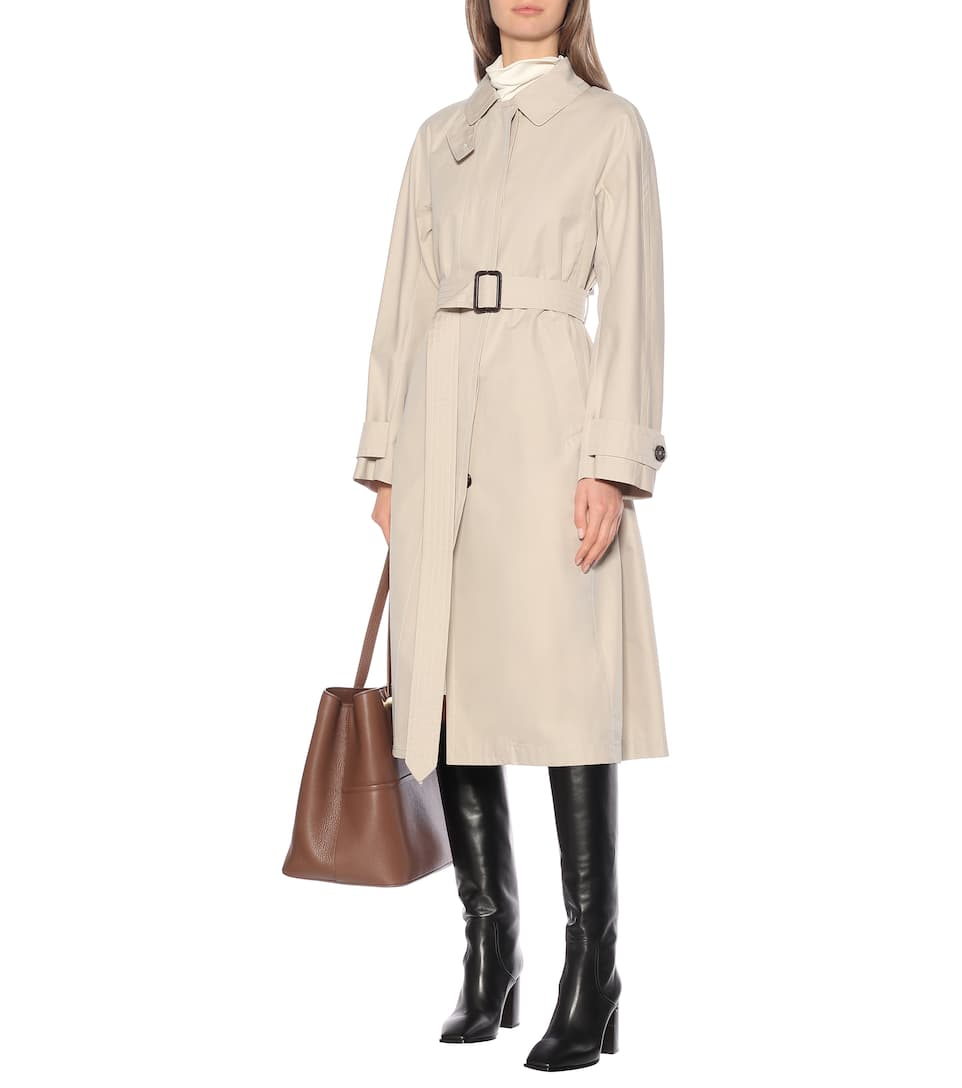 Max Mara - Belted cotton trench coat
