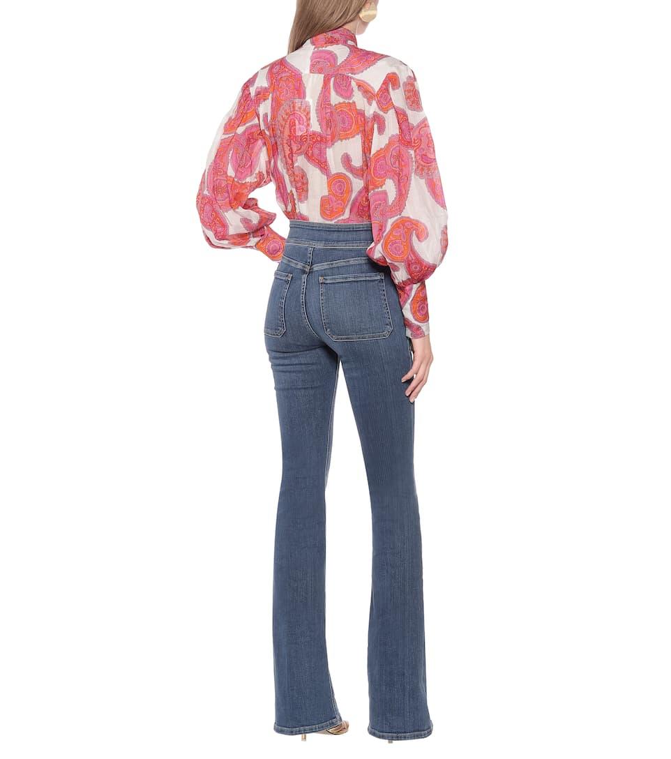 Frame - Le Francoise high-rise flared jeans