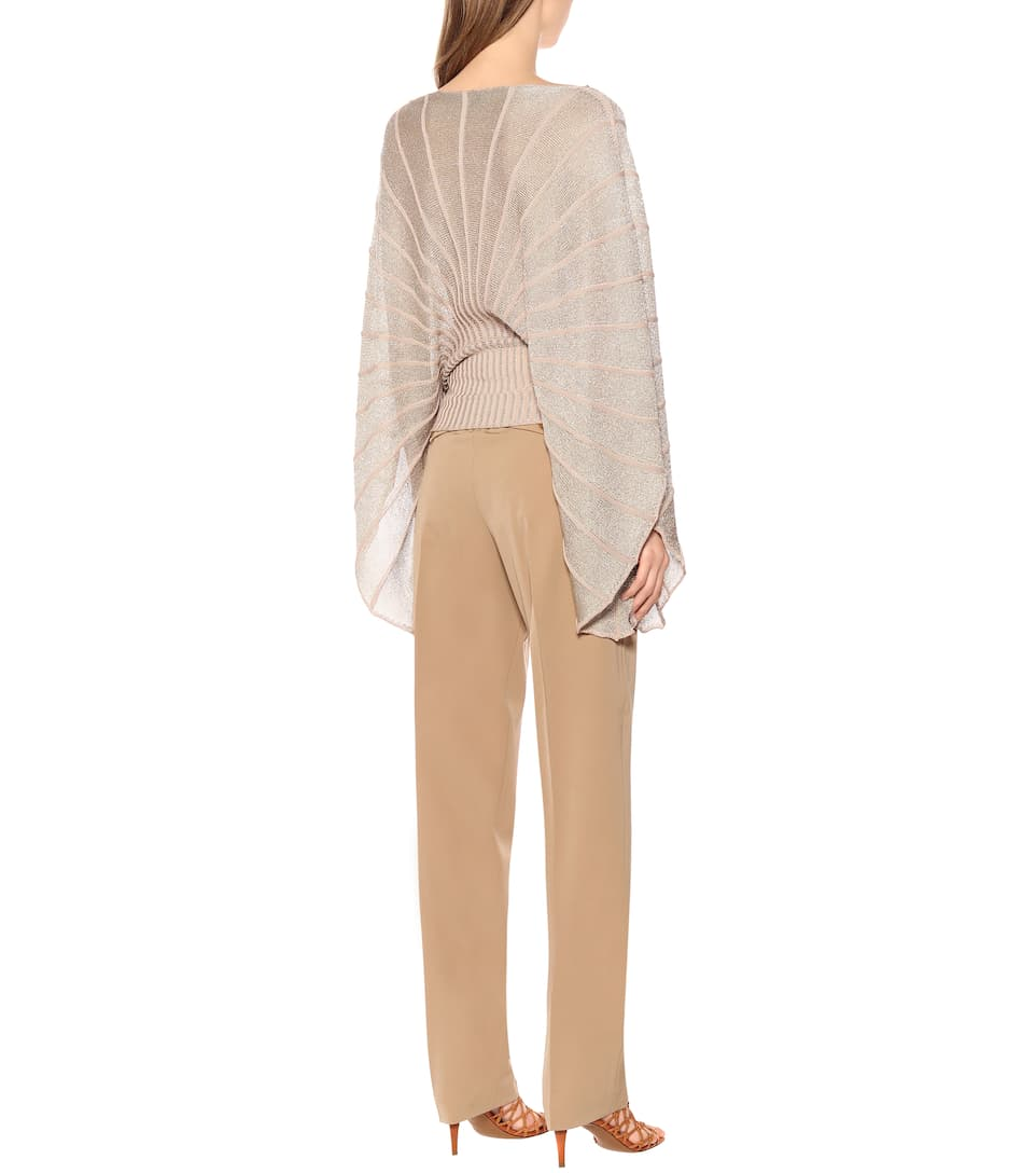 Stella McCartney - Metallic knit sweater