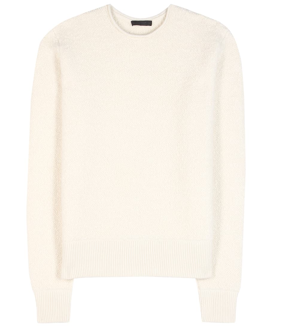 The Row Sibia cashmere and silk sweater