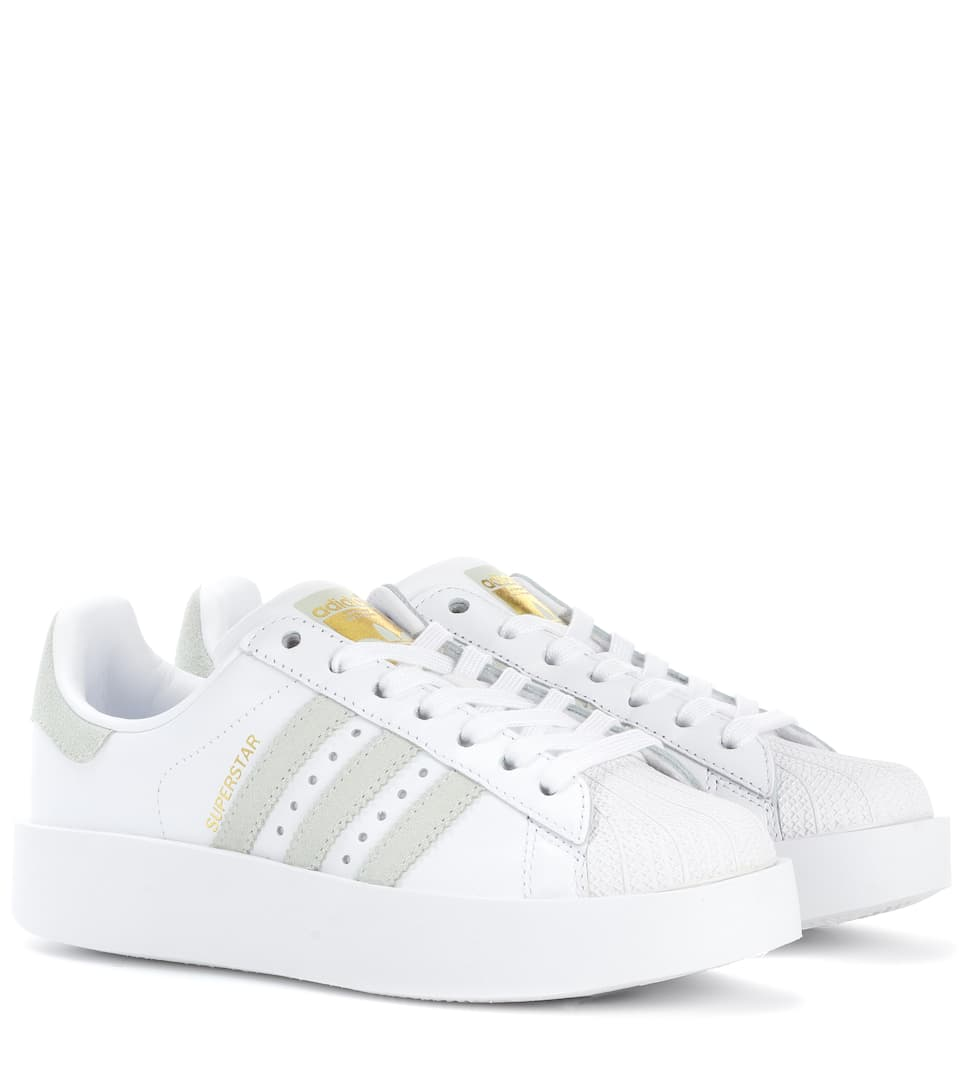 watch e2179 74c81 Superstar Bold Leather Sneakers - Adidas Originals