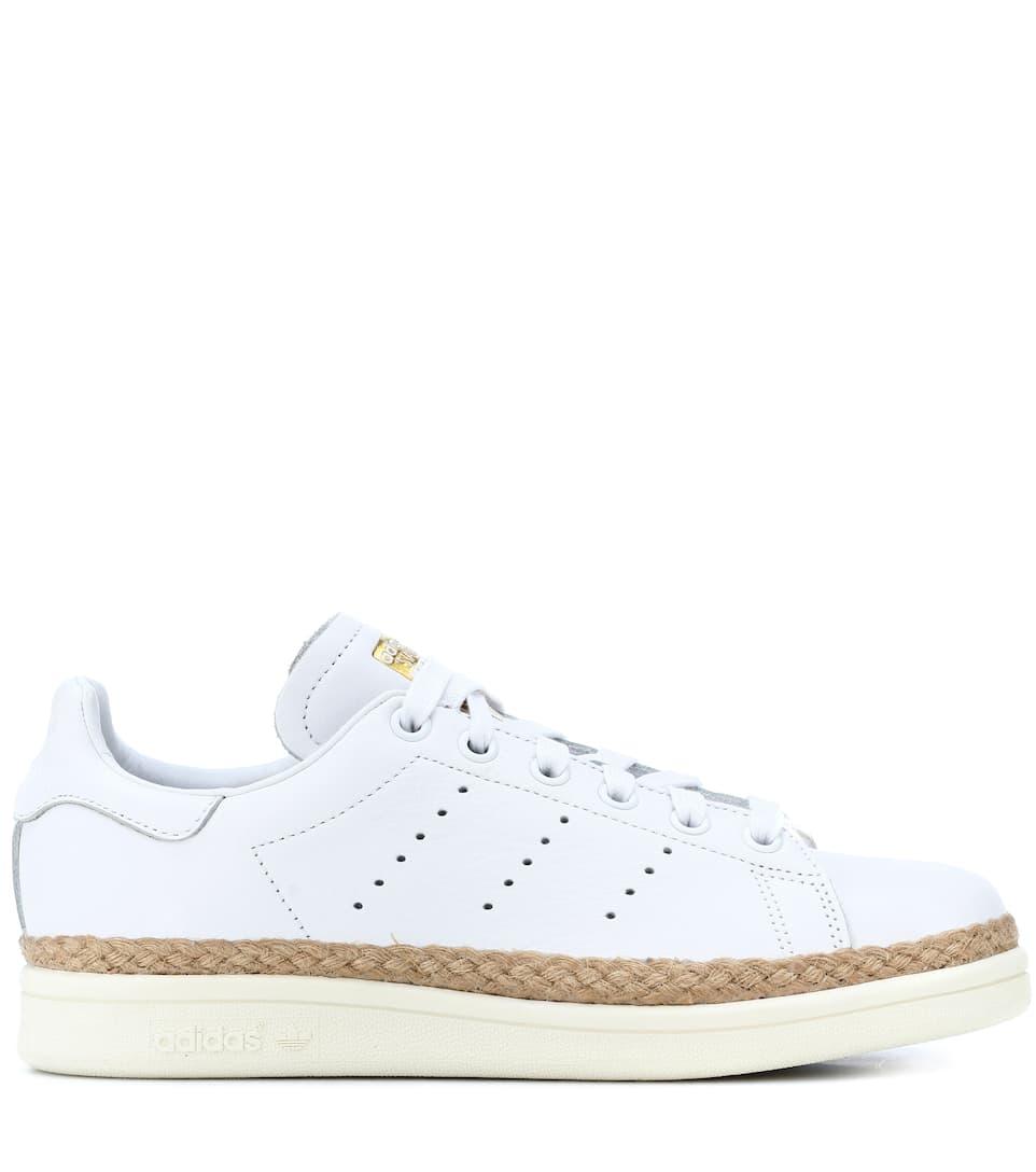 reputable site 6fb12 b7283 Baskets en cuir Stan Smith New Bold. Adidas Originals