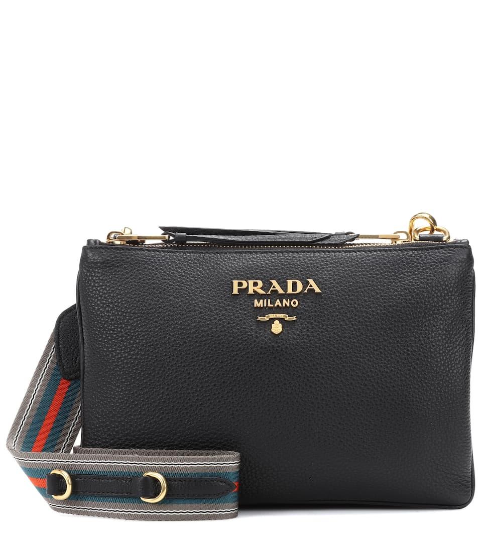 Prada Crossbody-Tasche Daino aus Leder