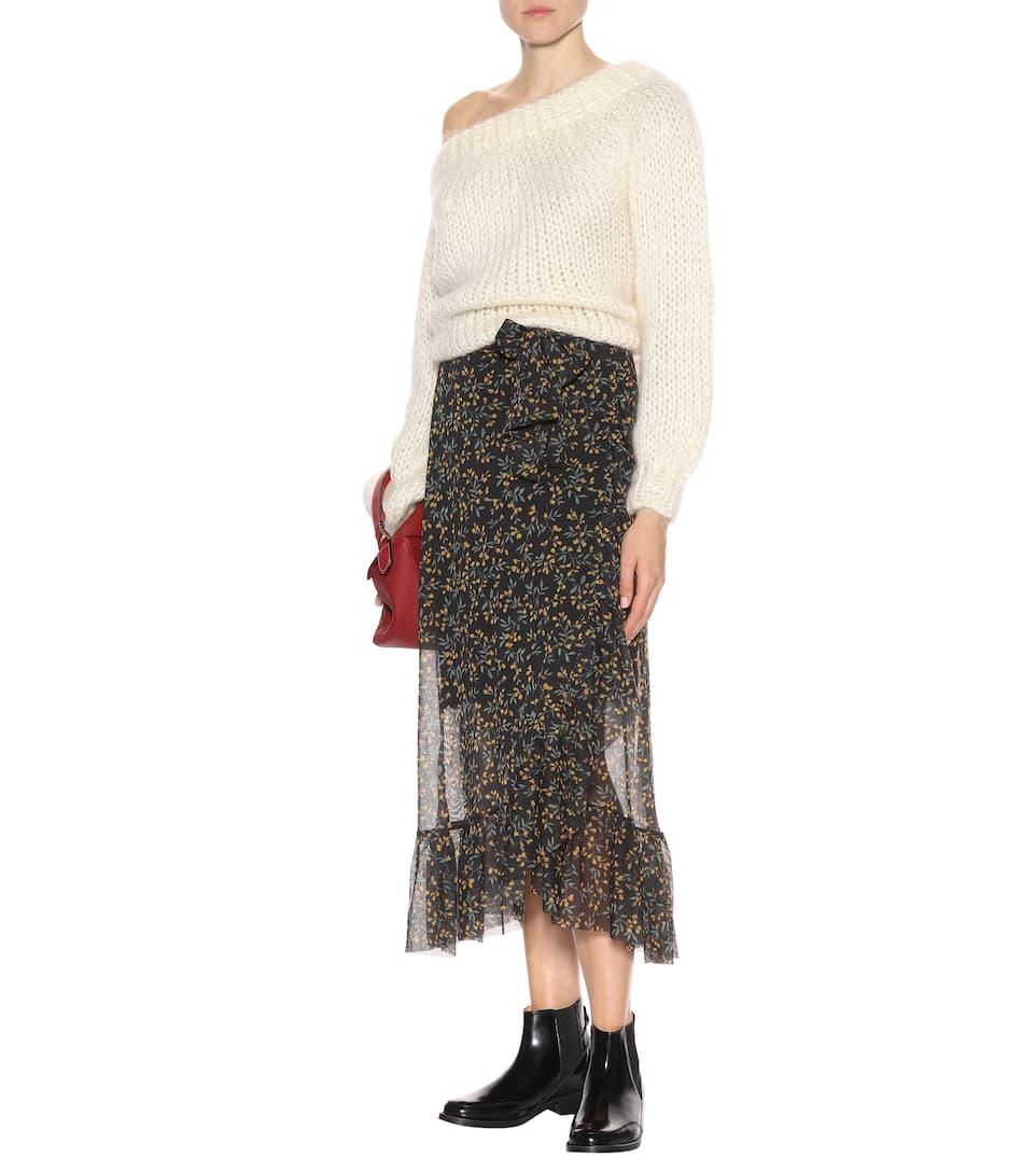 Verkauf Günstig Online Online Blättern Ganni Ankle Boots Violet aus Leder Billig Bequem Günstig Online 100% Original Online PycAbwtF