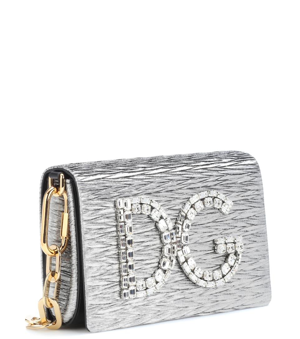 Dolce & Gabbana Verzierte Schultertasche DG Girls Online Gehen NkcQQKQF