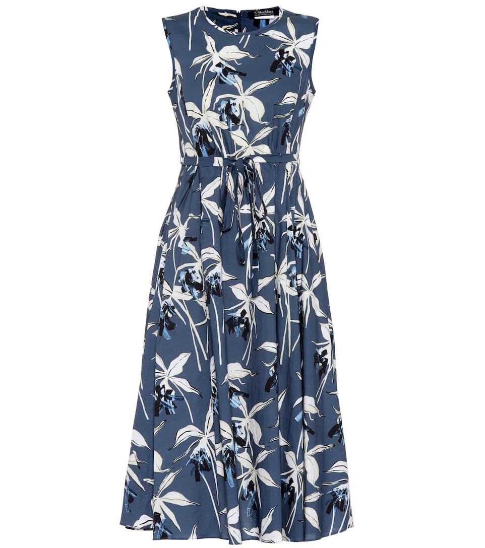DILLY COTTON-POPLIN DRESS